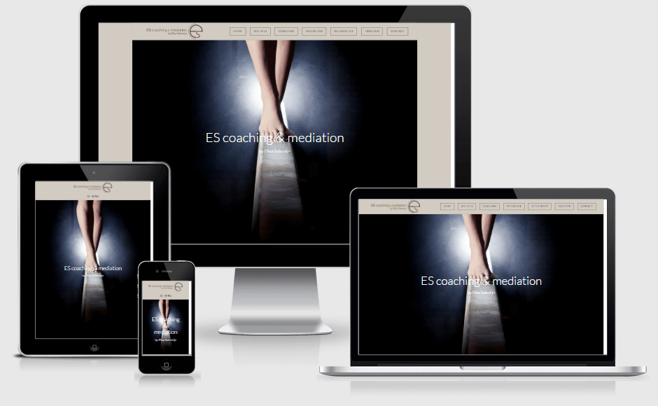 Responsive website ES Coaching en Mediation