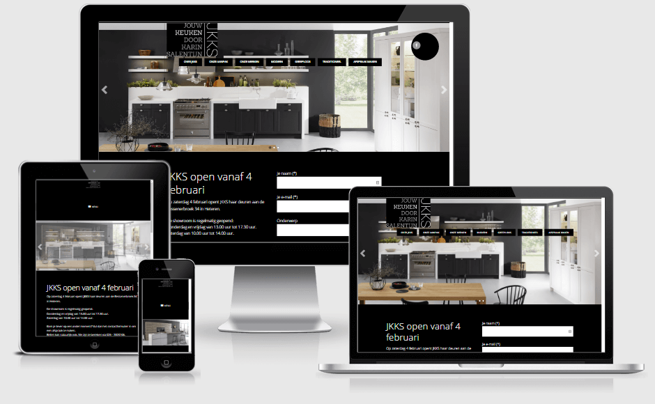 Responsive website jkks.nl